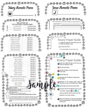 My Rosary Bundle | Catholic-faith&life resources | Rosary