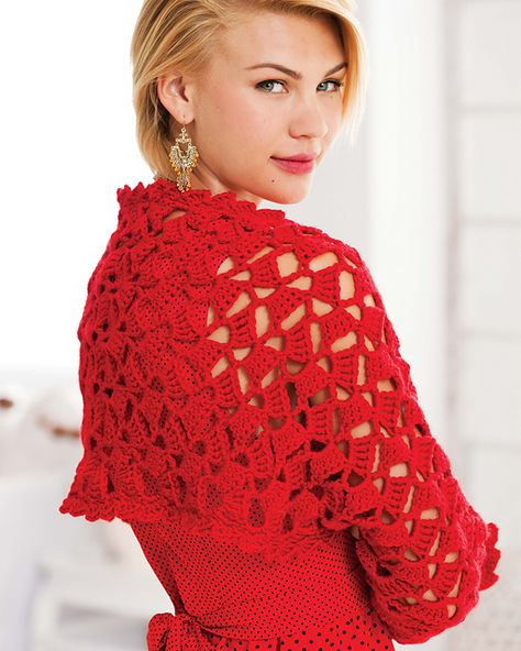 Ravelry: Tilting Blocks Shrug pattern by Deborah Norville