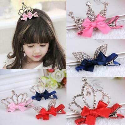 Baby Hairpin Crown Hair Clip Princess Girl Hair Accessories Beauty Hot Perfect