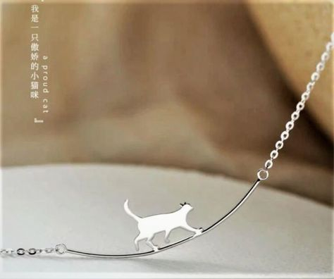 New Fashion Cat Curved Simple Personality 925 Sterling Silver Jewelry Cute   eBay