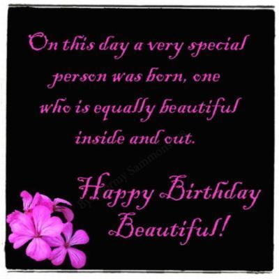 On This Day A Very Special Person Was Born Happy Birthday