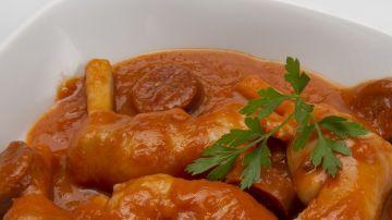 Receta De Karlos Arguiñano Manitas De Cordero En Salsa Cordero En Salsa Recetas De Comida Comida étnica