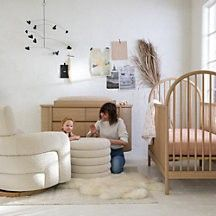 Canyon Spindle Crib | Crate and Barrel