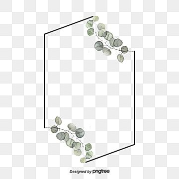Green Eucalyptus Leaf Diamond Border Hand Drawn Eucalyptus Leaves Botany Png Transparent Clipart Image And Psd File For Free Download How To Draw Hands Leaf Clipart Frame Border Design