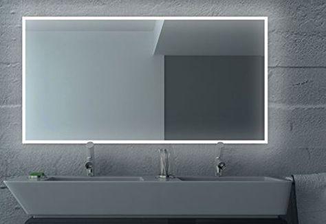 Led Badezimmerspiegel Badspiegel Wandspiegel Bad Spiegel Lichtspiegel S100 Breite 130 X Hohe 60 Cm Amazon Bathroom Mirror Led Mirror Bathroom Bath Mirror