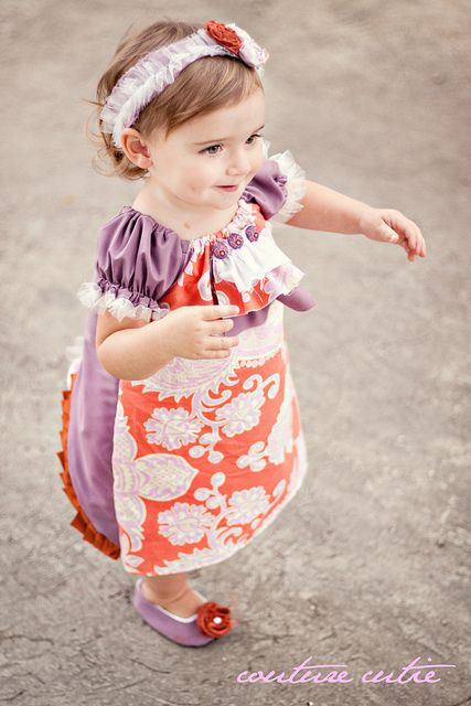 Love her designs. I have no idea how to sew but I am determined to learn just to make these super cute clothes!