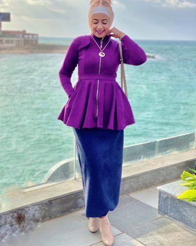 ملابس الجامعة ملابس جامعة ملابس كاجوال ملابس محجبات تنورة بنات Hijab Fashion Fashion Women