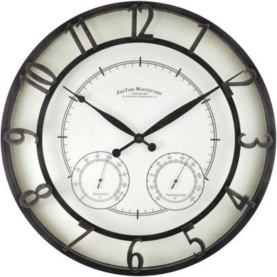 Null Outdoor Wall Clocks Outdoor Clock Wall Clock