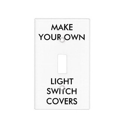 Dosage Single Toggle Light Switch Cover Custom Handmade Collective Soul