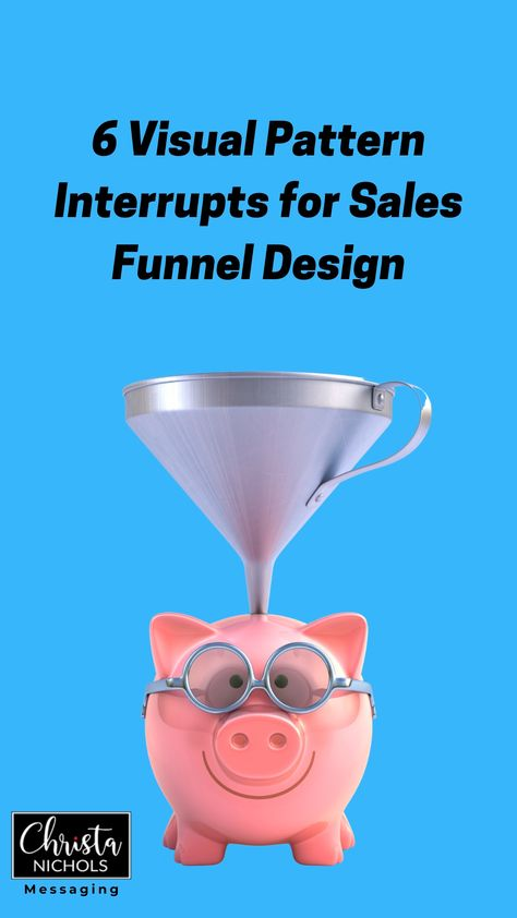 Text Pattern Interrupts for Sales Funnel Copywriting Design | Create Sales Funnels that Convert