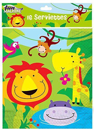 Jetzt Verfugbar Eur 4 41 Jungle Party Thema Collection Geburtstag