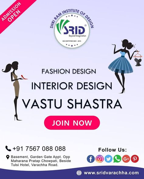Admission Open For 2018 19 Batch Fashion Designing Interior Designing Vastu Shashtra 1st Ti Latest Fashion Design Fashion Drawing Fashion Illustration