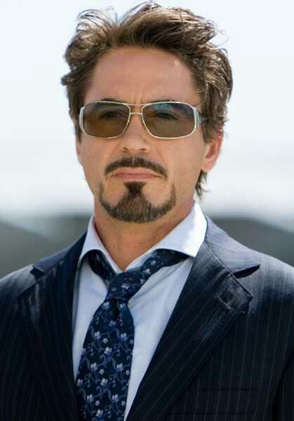 Robert Robert Downey Jr Iron Man Robert Downey Jr Beard Styles For Men