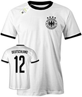 Wm 2018 Deutschland Retro Wunschname U Nummer Herren T Shirt Tolle Geschenkidee Fur Alle Fussballfans Wm Fussball Gesch Herren T Shirt T Shirt Shirts