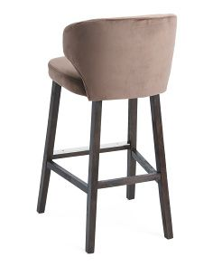 Brilliant Carolina Round Back Barstool Accent Furniture Furniture Machost Co Dining Chair Design Ideas Machostcouk