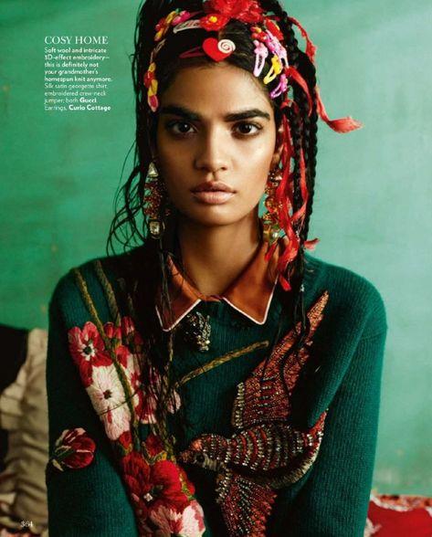 Koi nahi tere siva mera yahaan... — global-fashions: Bhumika Arora - Vogue India...
