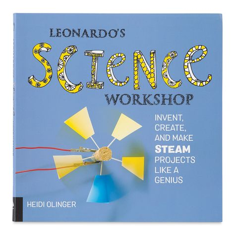 Learn the fundamentals of science through a multidisciplinary approach inspired by Renaissance polymath Leonardo da Vinci. *Leonardo's Science Workshop* explores how art intersects with science and nature through accessible  engaging explanations and hands-on learning. Author � Heidi A. Olinger. - Leonardo's Science Workshop