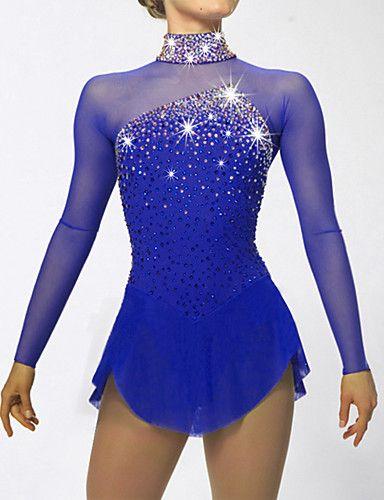 Girl latin Ice Skating Dress Competition Ice Figure Skating Dress black pink
