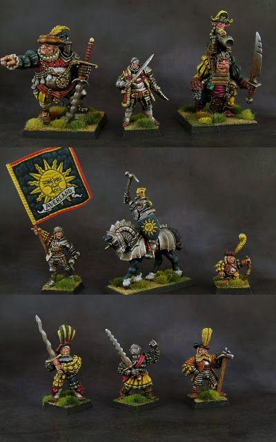 Xulutec 2018 Warhammer Fantasy Miniatur Charakterdesign
