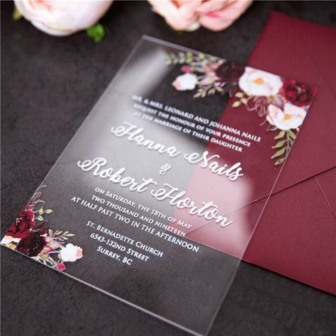 15 Off Cheap Acrylic Wedding Invitations Acrylic Wedding Invitations Acrylic Invitations Clear Wedding Invitations