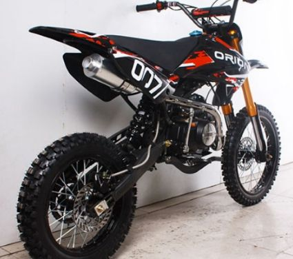 New 125cc Apollo Moto X Dirt Bike 4 Speed Manual Clutch Db 007