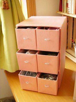 Reutiliza Tus Cajas De Zapatos Para Estanterías Trabajo