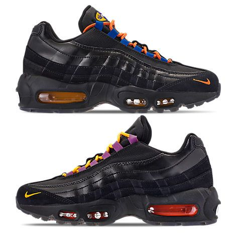 bc09bf7e514 Nike Men S Air Max 95 Premium La Vs Nyc Casual Shoes Black Nike
