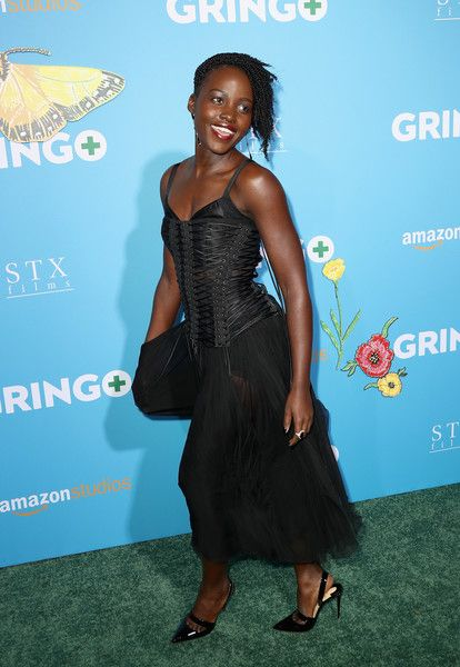 Actor Lupita Nyong'o attends the world premiere of 'Gringo' from Amazon Studios and STX Films.