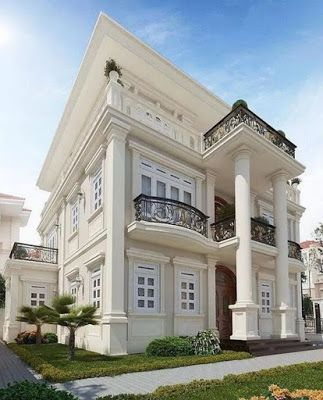 75 Luxurious And Magnificent Exterior House Design Ara Home Exteriorhouse Housestyles House House Designs Exterior Classic House Exterior Classic House