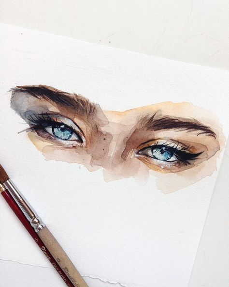 "Watercolor illustrations 🎨 on Instagram: ""🎨 Watercolorist: @kadantseva_natalia ⠀ #waterblog #акварель #aquarelle #painting #drawing #art #artist #artwork #painting #illustration…"""