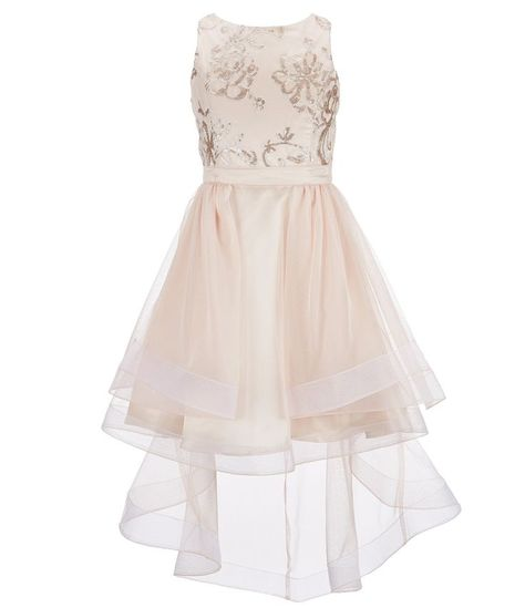 cf60878b288 Tween Diva Big Girls 716 EmbroideredCascading ALine Dress  Dillards.  Dillards Flower Girl Dresses Flower