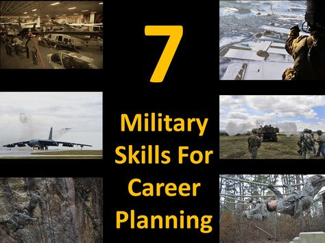 Seven Military Skills for Career Success