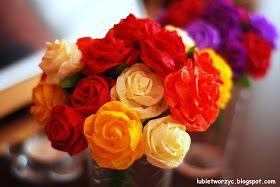 Lubie Tworzyc Roze Z Bibuly Marszczonej Video Plants Flowers Rose