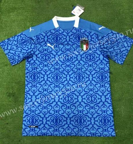 2020 European Cup Italy Home Blue Thailand Soccer Jersey Aaa 403 Soccer Jersey European Cup Italy House