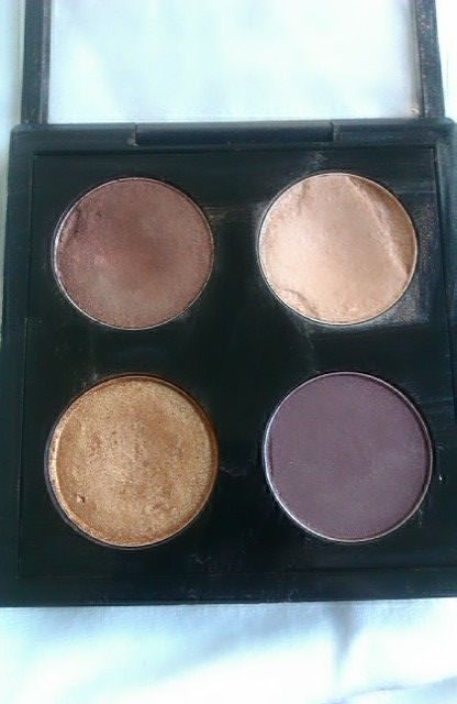 Make-Up Anonymous: Customized MAC Palette - Bronze Eyes