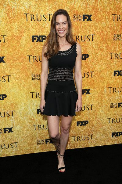 Hilary Swank attends the For Your Consideration Event for FX's 'Trust.'