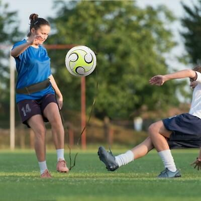 Advertisement Ebay Football Kick Trainer Skill Solo Soccer Training Equipment Adjustable Waist Be Soccer Training Equipment Soccer Training Training Equipment