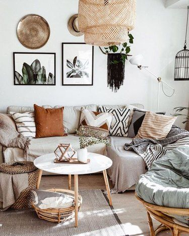 Living Room Lighting Ideas That Make The Case For Boho Style As If You Needed Any Proof Hunker Home Decor Living Room Decor Stylish Home Decor Living room boho decor ideas