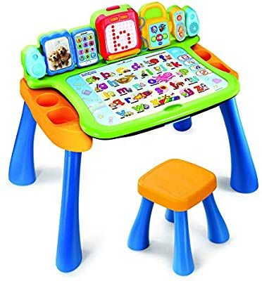 Vtech 195803 Touch And Learn Activity Desk Multi Colour Amazon