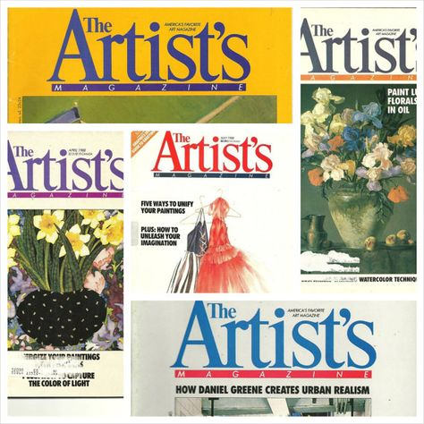 Art Magazines Lot Of 5 Back Issues Of The By Thirdhandshoppe