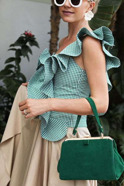 Ruffles - Fresh Gingham Outfit Ideas Perfect for Summer - Photos