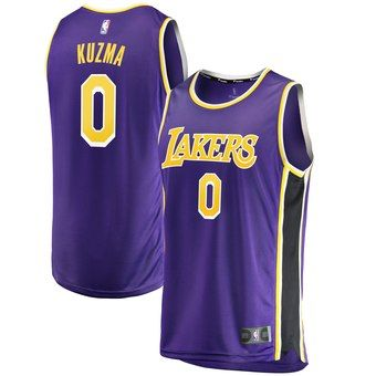 Youth Los Angeles Lakers Kyle Kuzma Fanatics Branded Purple Fast Break Jersey Statement Edition In 2020 Los Angeles Lakers Kyle Kuzma Jersey