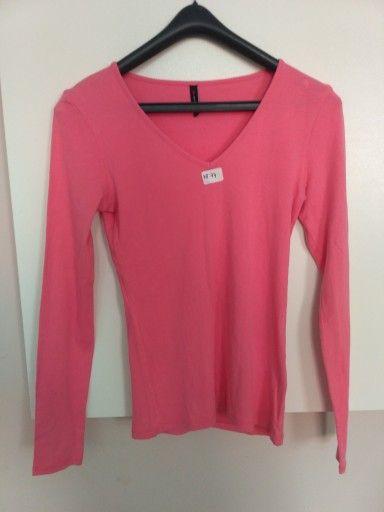 Elegancki Koralowy T Shirt Damski Fishbone 7549769480 Oficjalne Archiwum Allegro Long Sleeve Blouse Sleeve Blouse Tops
