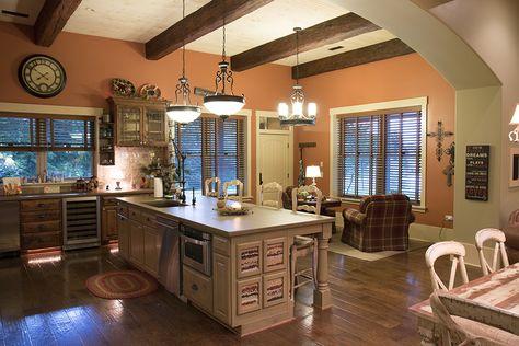 Morton Buildings custom home interior in Dickson, Tennessee.