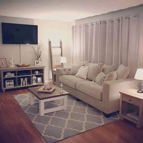41 Impressive Farmhouse Living Room Makeover Design Ideas #livingroom #livingroomdecor #livingroomideas ~ Gorgeous House