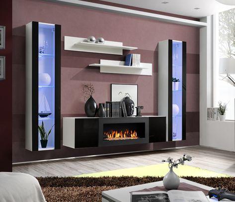 Goedkope Tv Kast.Idea M2 Modern Tv Wandmeubels Wandkasten Tv Kastenwanden En