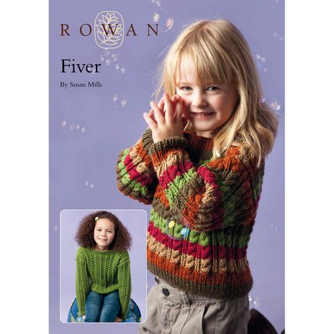 1e780ac2f499 Fiver Cable Sweater in Rowan Pure Wool Worsted Free