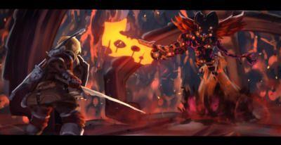 Fireblight Ganon Divine Beast Vah Rudania Botw Legend Of