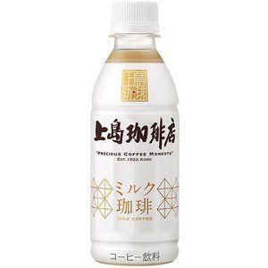 Ucc 上島珈琲店 ミルク珈琲 270ml ペットボトル 24本入 ミルク コーヒー 上島
