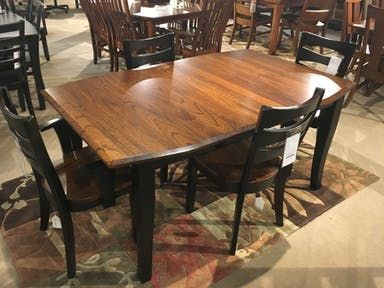 Prime Amish Elm Top Table Dining Rooms Dining Dining Table Home Interior And Landscaping Ologienasavecom